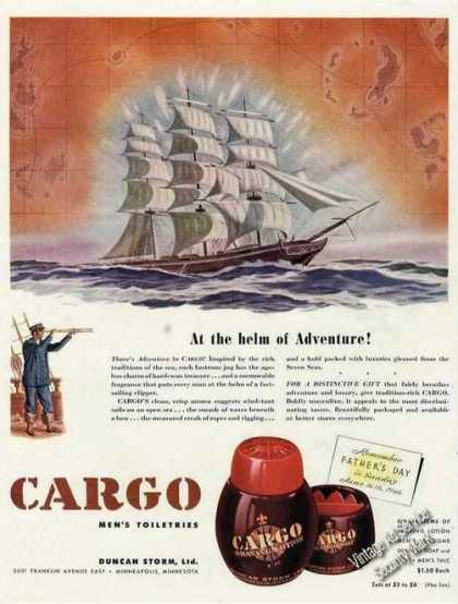 Cargo Men&#8217;s Toiletries Minneapolis Mn (1946)