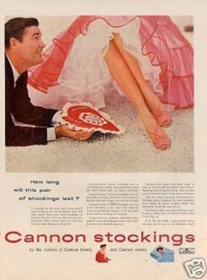 Cannon Stockings (1954)