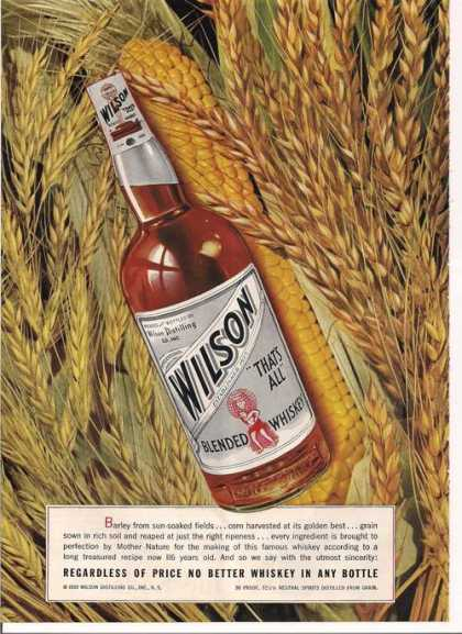 Wilson Blended Whiskey (1939)
