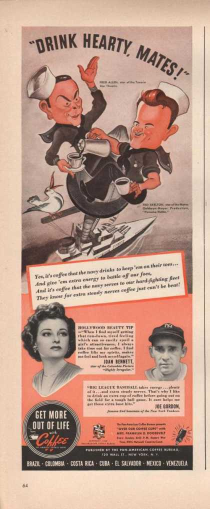 Get More Out of Lige With Coffee (1942)