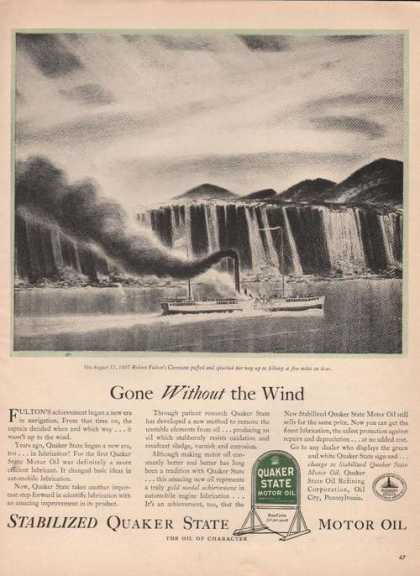 Gone Without the Wind Quaker State Motor O (1941)