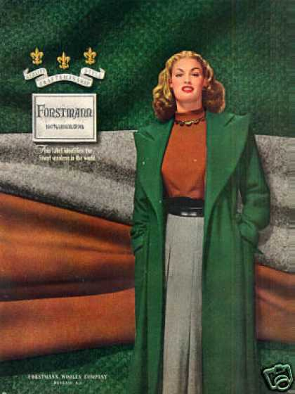 Forstmann Ladies Fashion (1947)