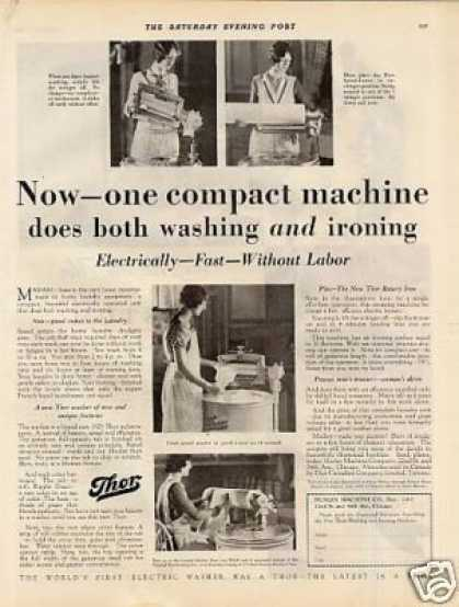 Thor Washer & Ironer (1929)