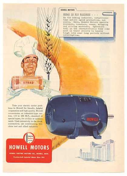 Howell Motors Bread Baking Industry (1951)