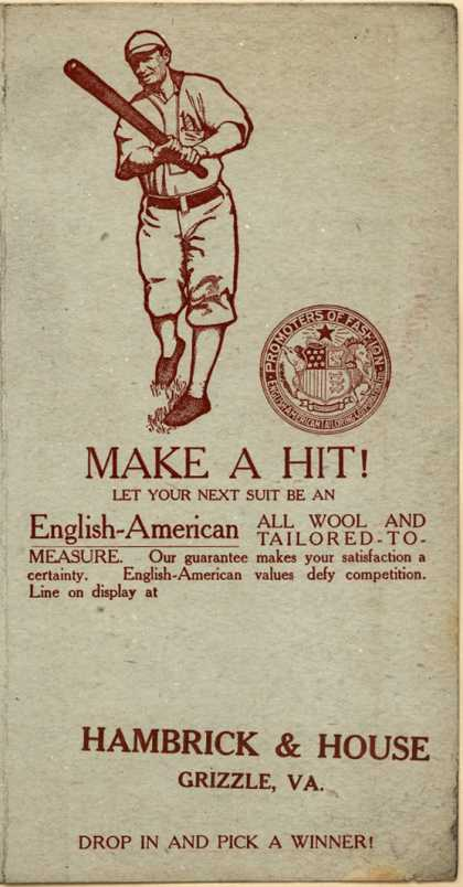 English-American Tailoring Corp. Ltd.'s Tailored Clothes – Make a Hit