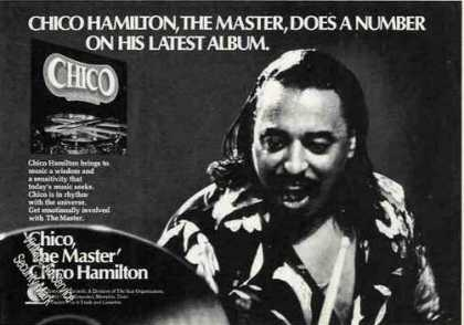 Chico Hamilton Photo Album Promo (1974)