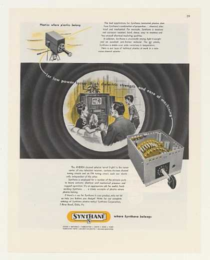 Andrea TV Channel Selector Synthane Plastics (1948)