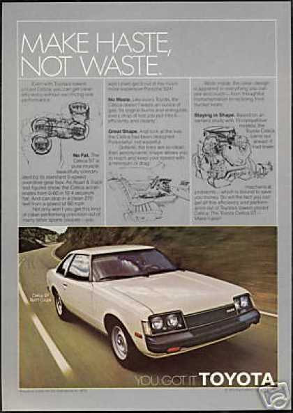 Toyota Celica ST Sport Coupe Haste Waste (1979)