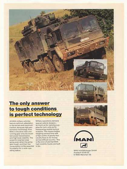 MAN Military Trucks Vehicles Photo (1987)