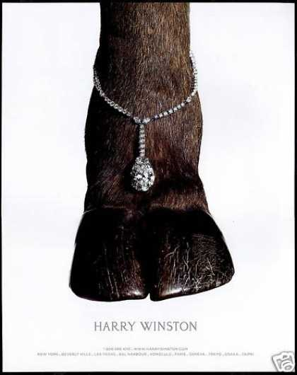 Harry Winston Diamond Jewelry Camel Hoof Photo (2006)