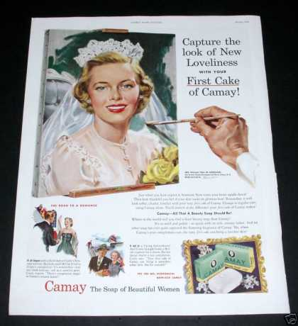 Camay, Soap of Beautiful Women (1950)