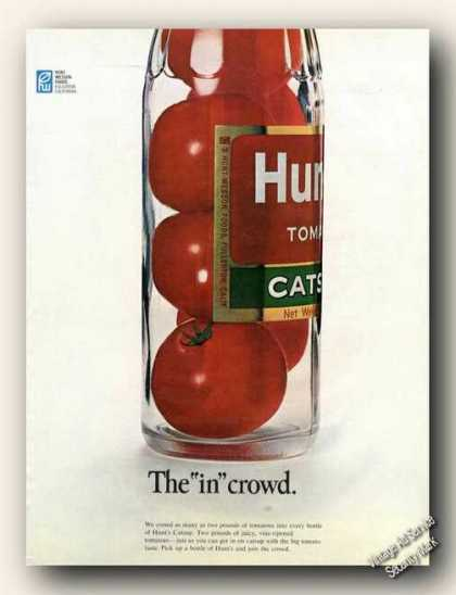 "Hunt's Catsup the ""In"" Crowd Clever Advertising (1968)"