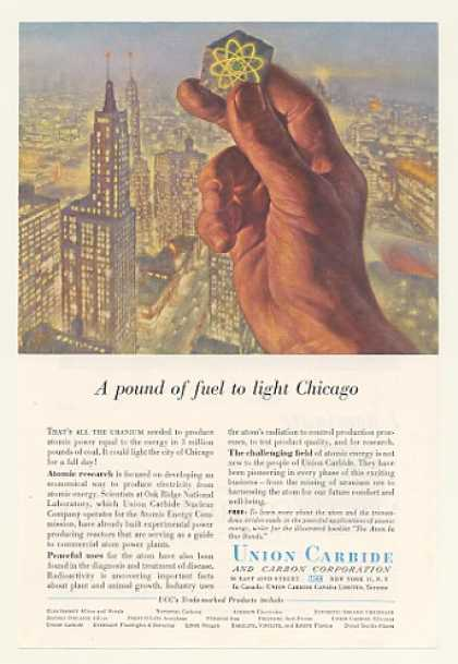 '57 Union Carbide Uranium Atomic Power Light Chicago (1957)