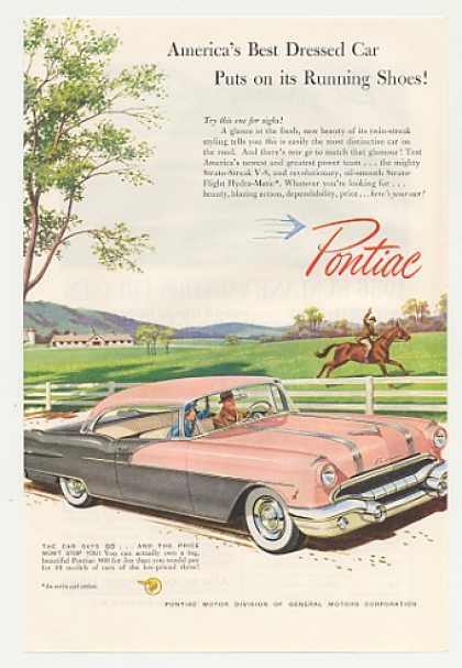 Pink and Gray Pontiac 860 Best Dressed Car (1956)