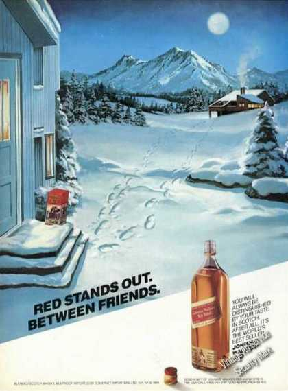 Johnnie Walker Red Label Between Friends Promo (1984)