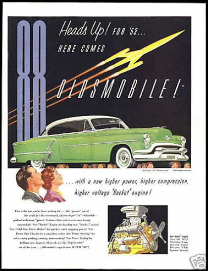 Oldsmobile Super 88 Holiday Coupe Vintage (1953)