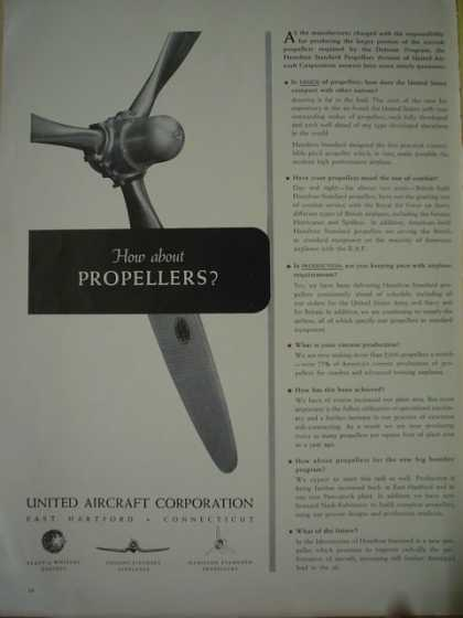 United aircraft corporation. How about propellers (1941)