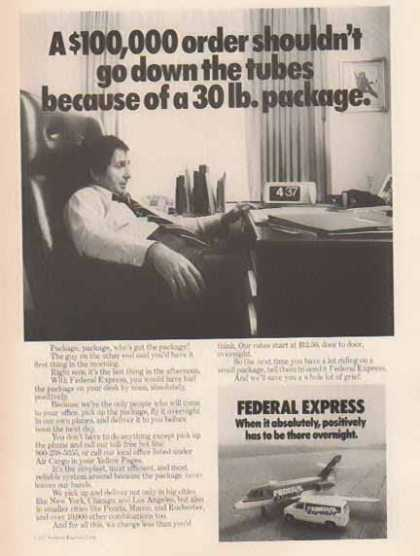 Federal Express Corporation – Down the Tubes (1977)