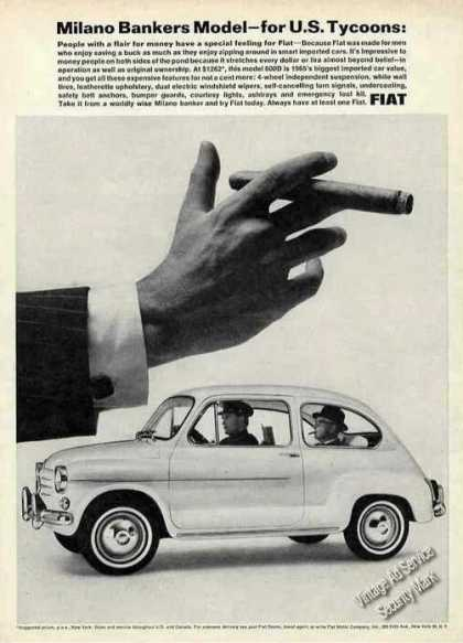 "Fiat 600d Photo ""Milano Bankers Model"" (1965)"