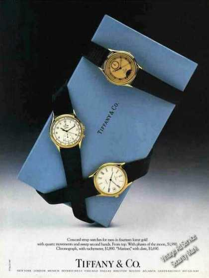 Concord Strap Watches Photo Tiffany (1987)