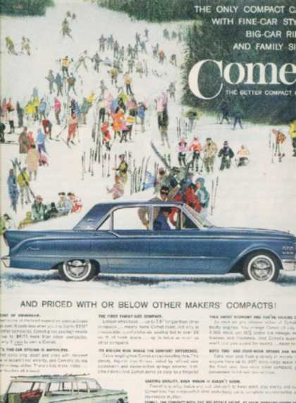 Ford's Mercury Comet (1961)