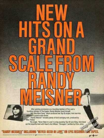 Randy Meisner Photos Album Promo (1982)