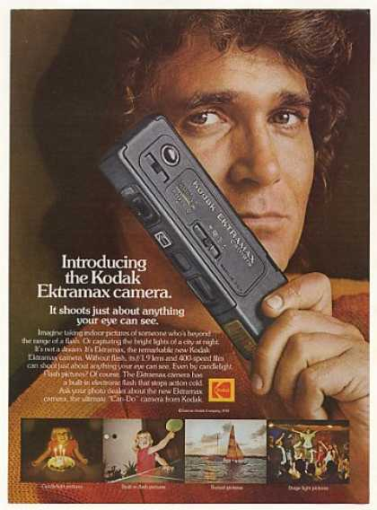 Michael Landon Kodak Ektramax Camera Photo (1978)