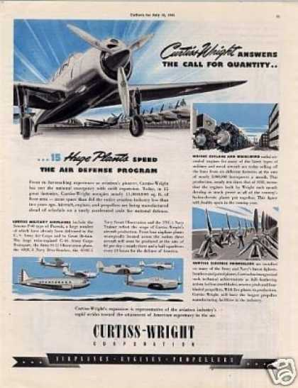 Curtiss-wright Aircraft (1941)