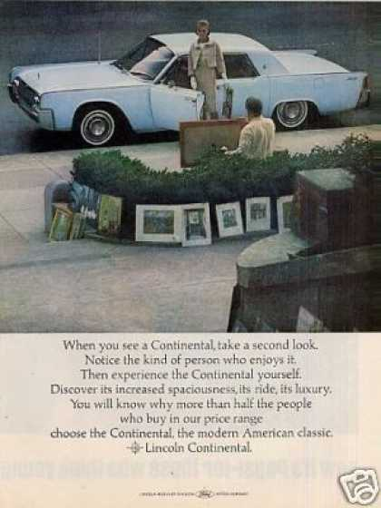 Lincoln Continental Car (1964)