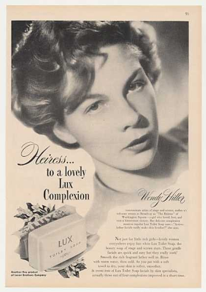 The Heiress Wendy Hiller Lux Soap Photo (1947)