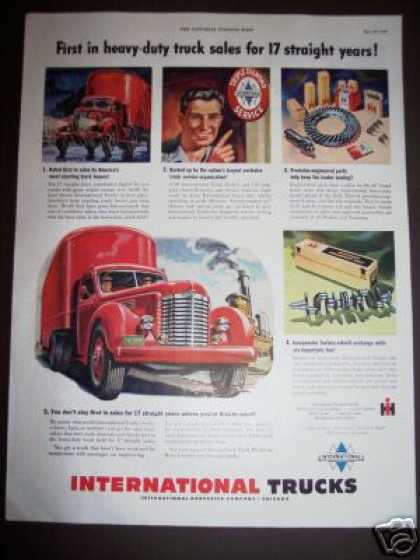 Original International Trucks Tractor (1949)