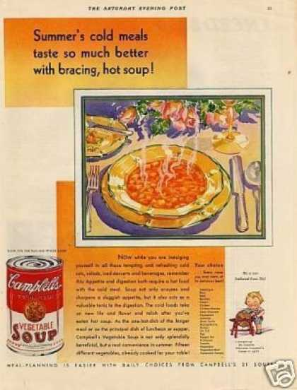 Campbell's Vegetable Soup (1931)
