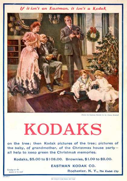 Kodak – If it isn't an Eastman, it isn't a Kodak (1905)