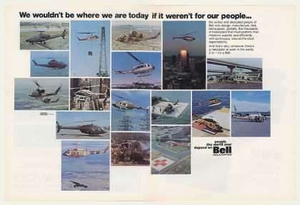 Bell Helicopter Our People 17 Photo (1975)
