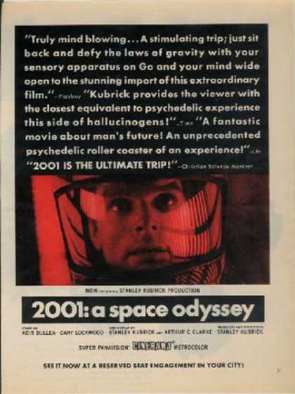 """2001: A Space Odyssey (Keir Dullea and Gary Lockwood)"