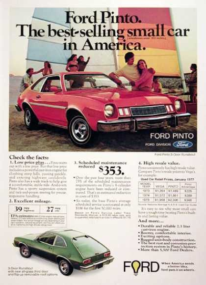 Ford Pinto Runabout (1977)
