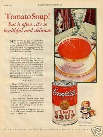 Campbell's Tomato Soup (1929)