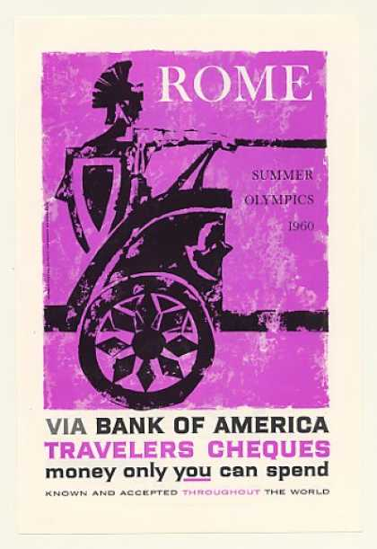 Bank of America Rome Summer Olympics Chariot (1960)