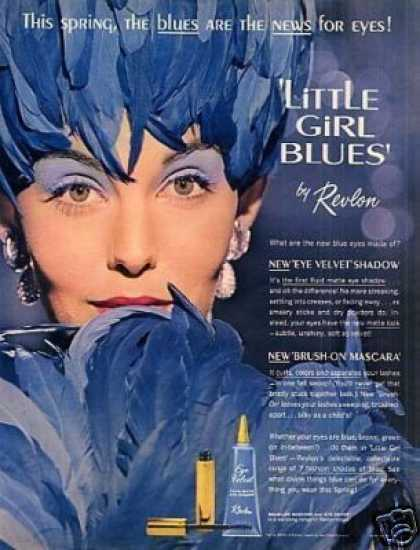 "Revlon ""Little Girl Blues"" Make-up (1962)"