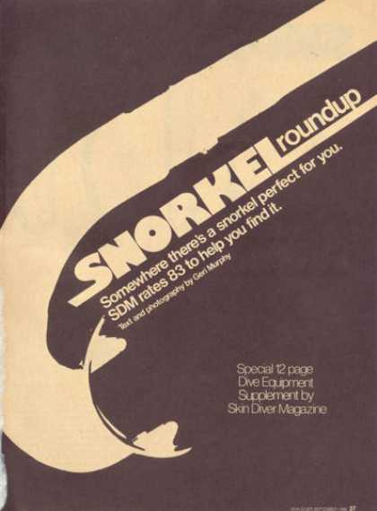 83 Snorkle Roundup Test Comparsion Article (1980)