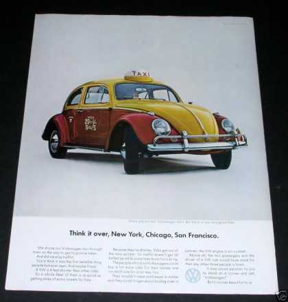 Volkswagen Beatle, As Taxi (1964)