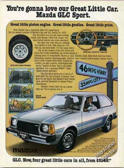 "Mazda Glc Sport ""Great Little Car"" Color (1978)"