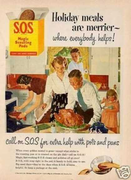 S.o.s Scouring Pads (1952)