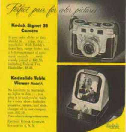 Kodak Camera – Kodaslide Viewer Model A, Signet 35 (1952)