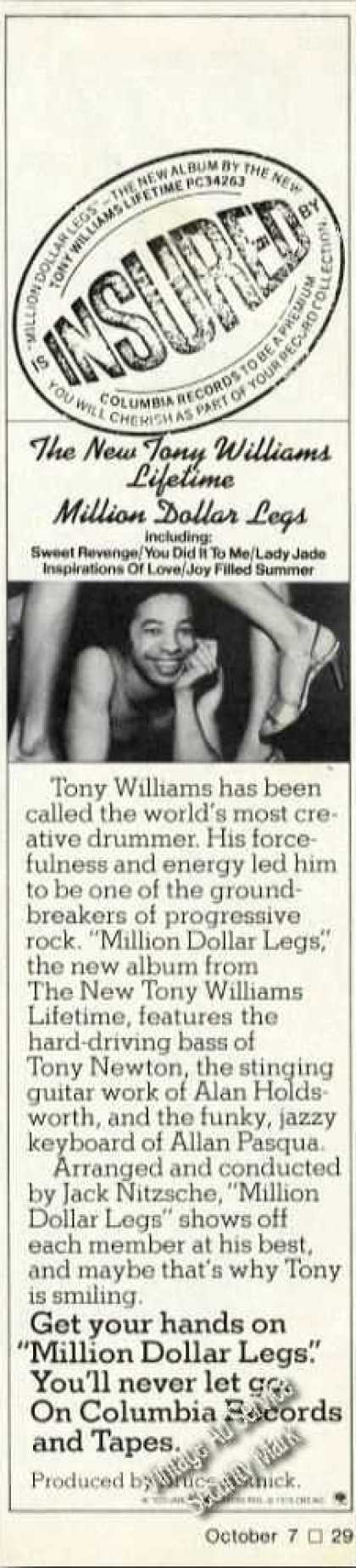 Tony Williams Photo Album Promo Music (1976)