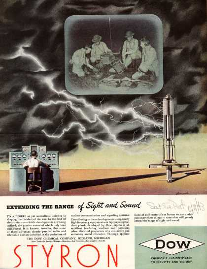 Dow Chemical Company's Various – Extending the Range of Sight and Sound (1943)