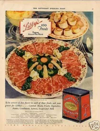 Vintage food advertisements of the 1930s page 5 for Cuisine 1930