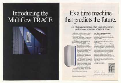 Multiflow Computer TRACE Supercomputer (1987)