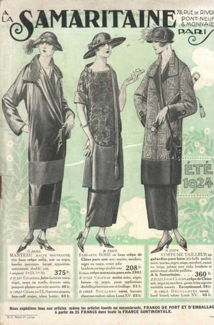 La Samaritaine, Mail Order Catalogue Womens, france (1924)