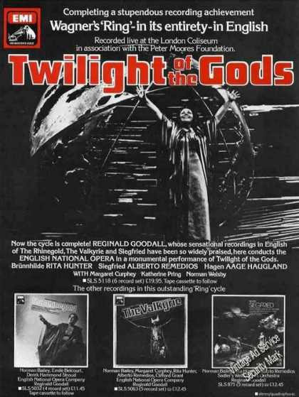 """Twilight of the Gods"" Emi Album Rare Uk (1978)"